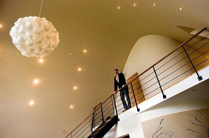 Imagine Lights - Interlocking recycled polypropylene lamps - Imagination to illumination.