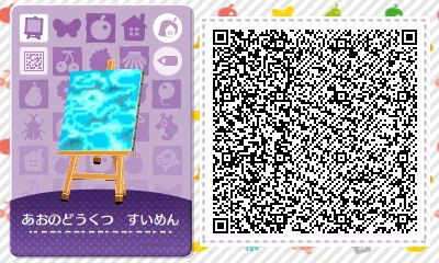 Imagenes De Animal Crossing New Leaf Qr Code Wasser Design