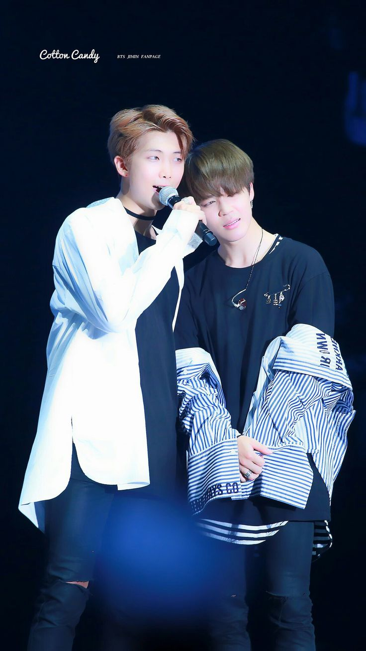 Rap Monster and Jimin! Minjoon~ BTS THE WINGS TOUR~ 2017 ...