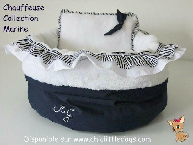chauffeuse pour chien de la collection marine angel. Black Bedroom Furniture Sets. Home Design Ideas