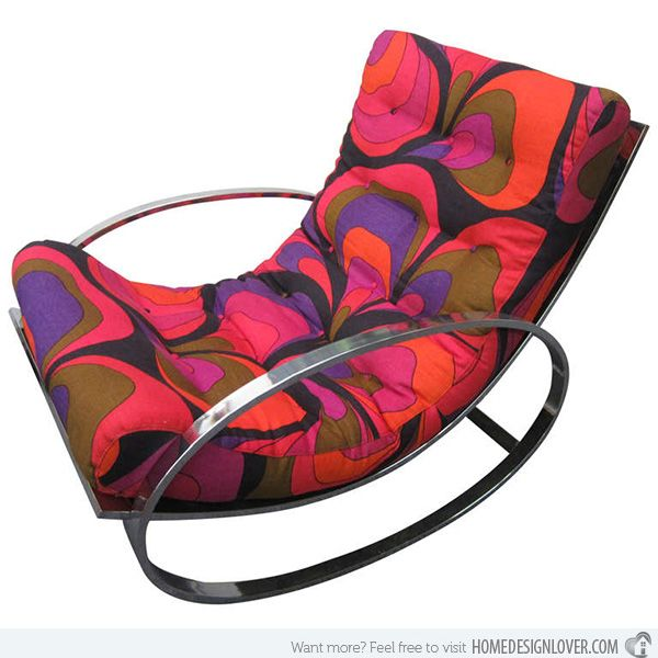 Rock with Comfort and Style: 15 Modern Rocking Chairs