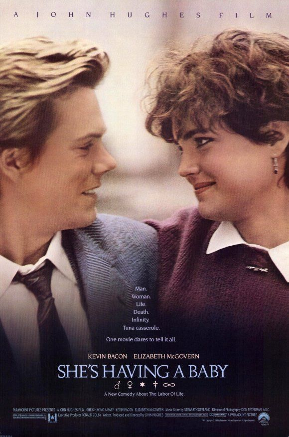 SHE'S HAVING A BABY (1988) with Kevin Bacon, Elizabeth McGovern, and Alex Baldwin