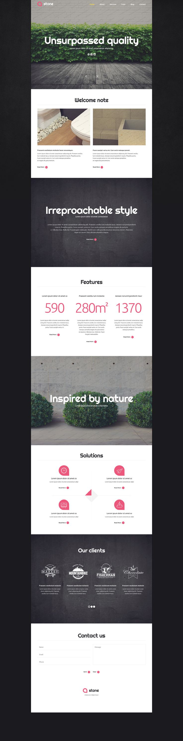 140 best FREE Website Templates images on Pinterest | Free website ...