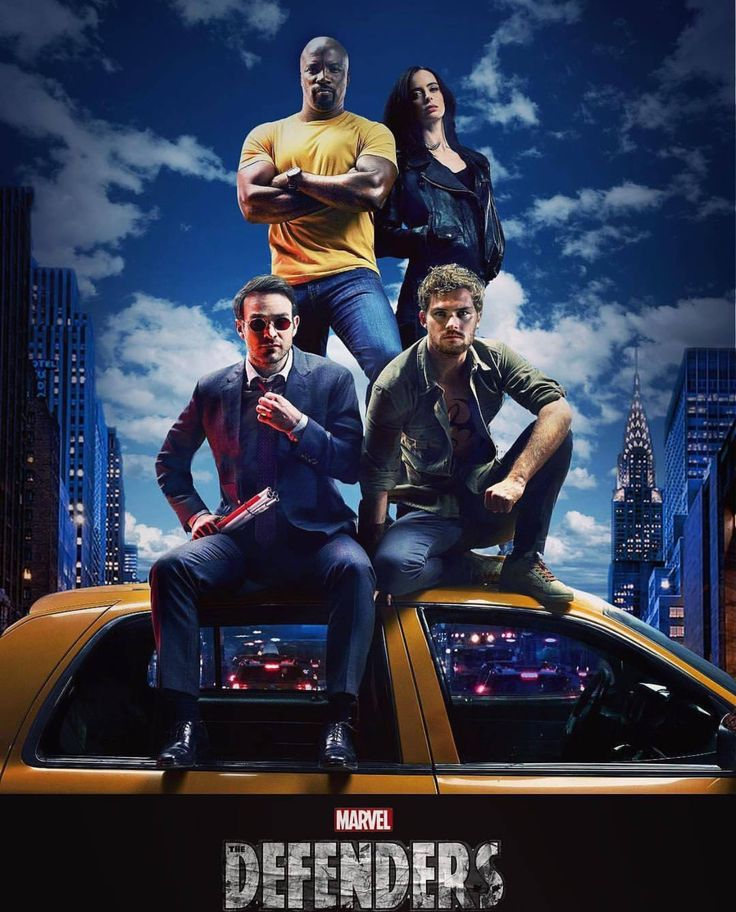 Marvel Defenders - Really looking forward to this show!!