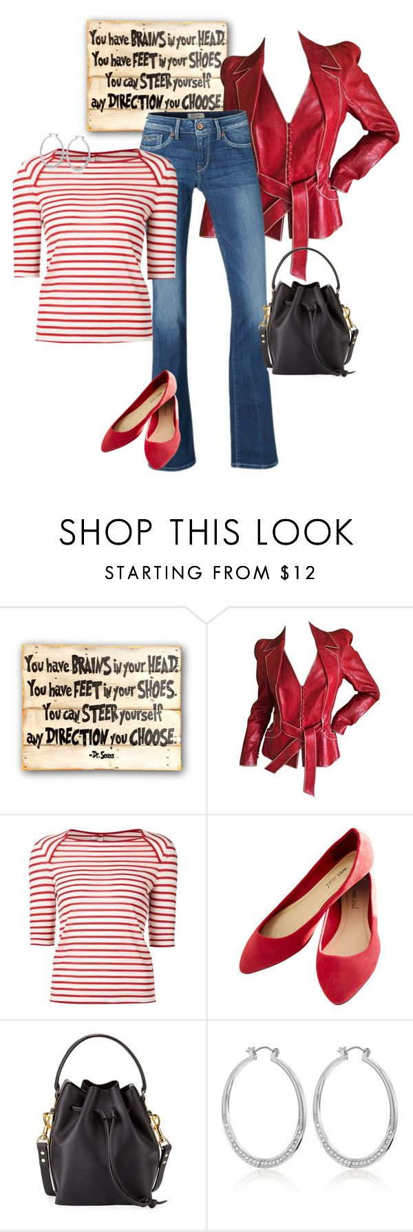 """Happy Birthday!"" by toots2271 ❤ liked on Polyvore featuring John Galliano, Pepe Jeans London, Yves Saint Laurent, Sophie Hulme and White House Black Market"