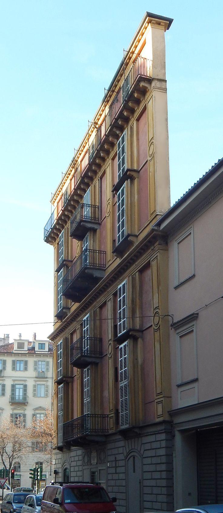 IT, Torino, Casa Scaccabarozzi. Architect Alessandro Antonelli, 1881.