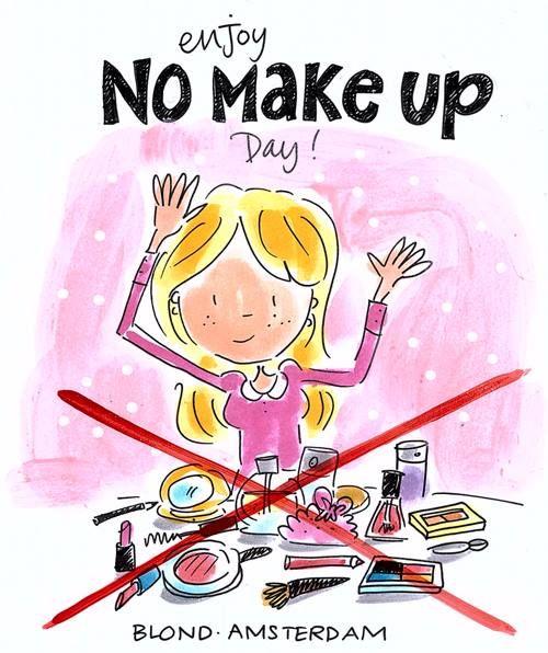 No make up day - blond amsterdam