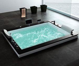 Amazing bath tub and the best thing is that it's found on Overstock.com! #WhirlpoolBathtub