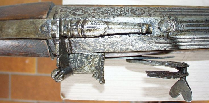 Ethnographic Arms & Armour - interesting breech-loading petronel-looking for additional info