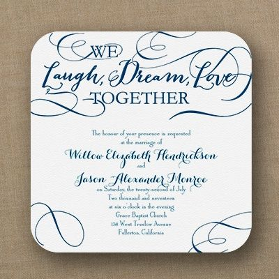 63 best CUSTOMIZE YOUR WEDDING INVITATION images on – Words of Invitation