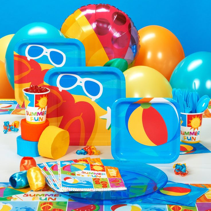 Fun In The Sun Party Supplies 1 Year Old Birthday Party