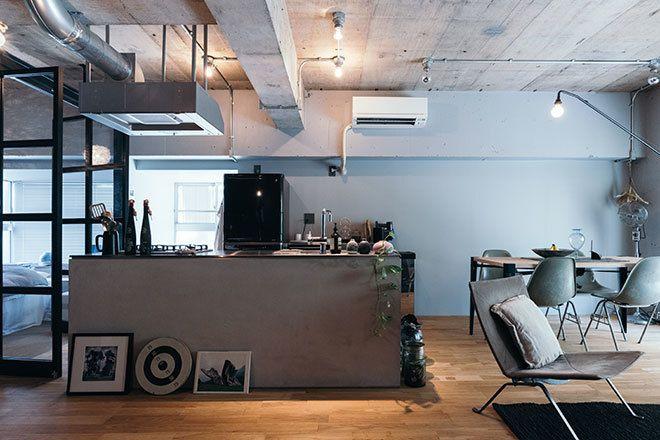 Beams Living Style 001 クールで都会的な家 リビング