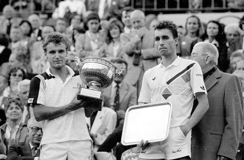 Mats Wilander, Ivan Lendl