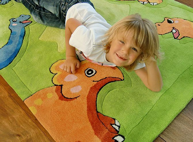 Happy Rugs w Limango - dywan do pokoju dziecięcego w dinozaury