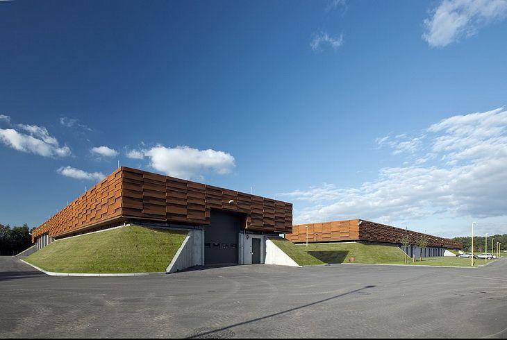 C. F. Møller Architects Designed Denmark's First Gas Compressor Plant