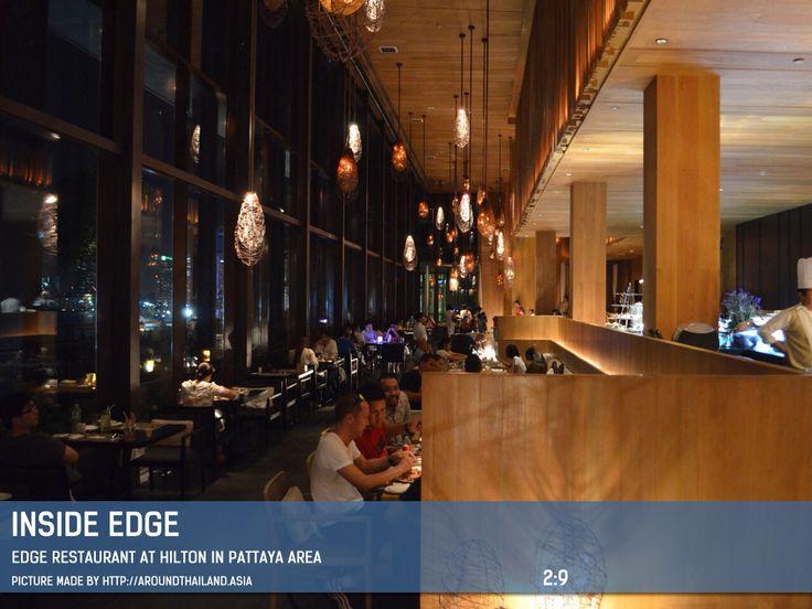 Inside Edge Restaurant at Hilton #hiltonhotel #edge