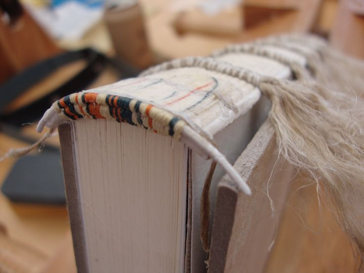 Bookbinding Headbands #Tutorial with illustrations and video