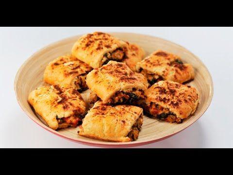 Пирожки с нутом | Теле-теле-тесто - YouTube