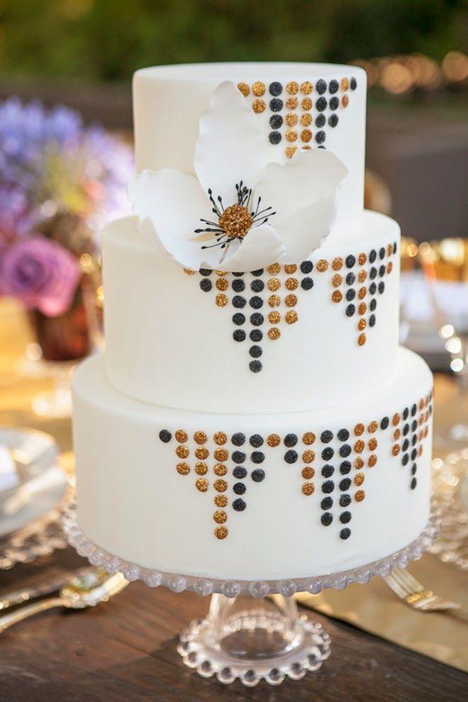 Art Deco Buttercream Wedding Cake : 17 Best ideas about Art Deco Cake on Pinterest Art deco ...