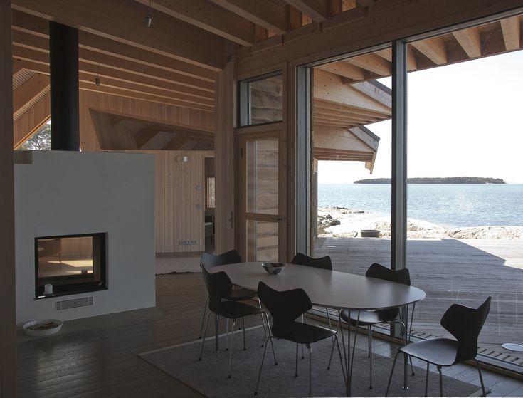 Gallery - Villa Krona / Helin & Co Architects, igen. Ljusinsläpp och placering av spis!
