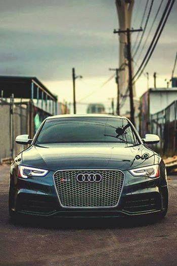 It's an Audi and it's got presence.