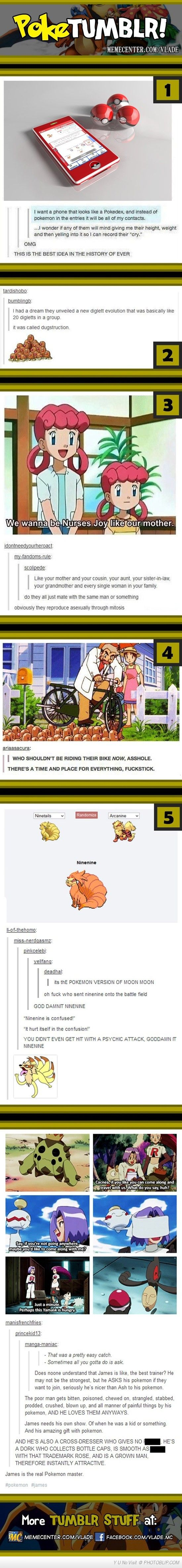 Pokemon On Tumblr Compilation  Lost it at number 3 lmao