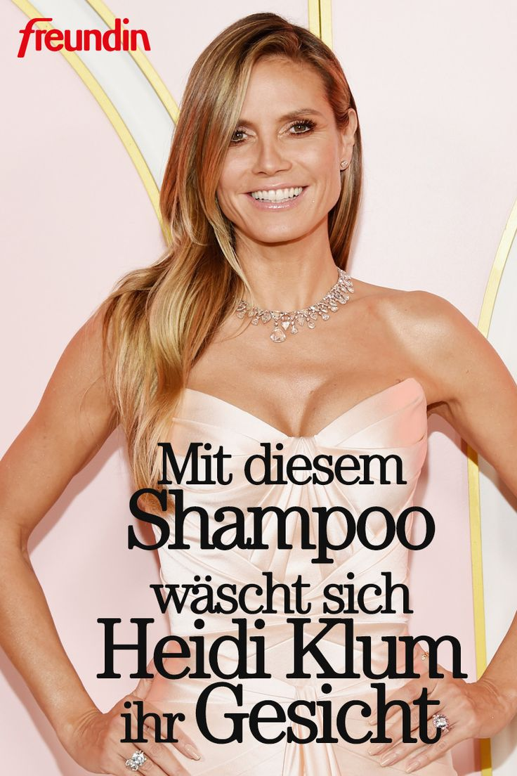 Mit diesem Shampoo (!) wäscht sich Heidi Klum das Gesicht