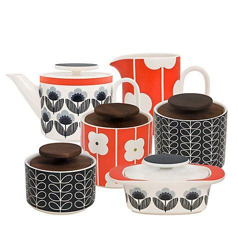 Buy Orla Kiely Ceramic Kitchenware Online at johnlewis.com