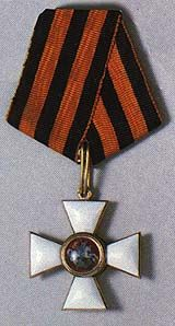 Order of St. George, Imperial Russia's highest exclusively military order, instituted in 1769.