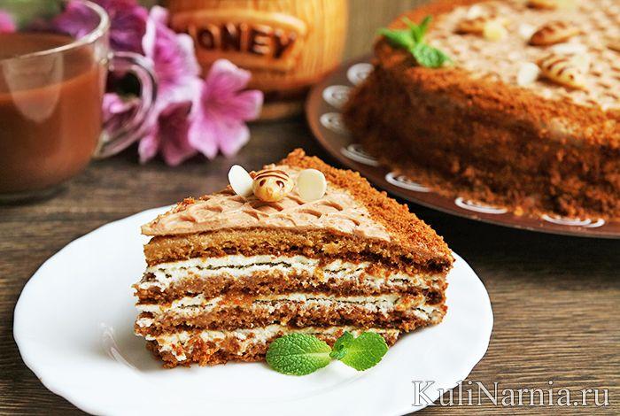 Торт медовик рецепт классический с фото пошагово