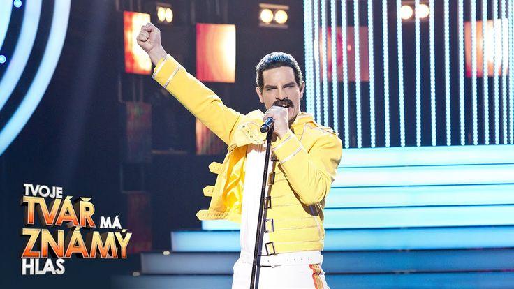 """David Kraus jako Freddie Mercury – """"I Want To Break Free""""   Tvoje tvář m..."""
