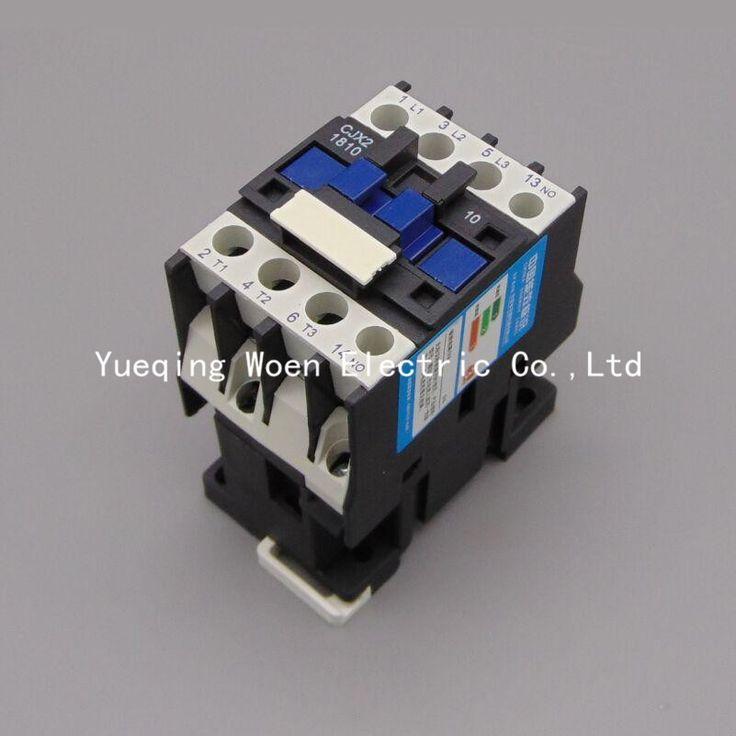 CJX2-1810 18A contactor 220v 3p  LC1 AC contactor voltage 380V 220V 110V 36V 24V