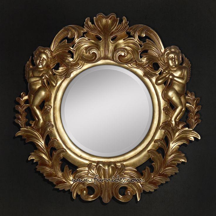 Frame Cermin Ukiran 2 Angel | FurniDes.Com