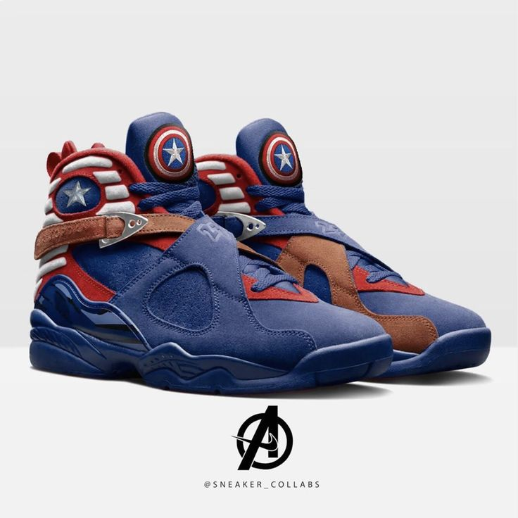 Please swipe for more images.CHOOSE YOUR FAVOURITE? So to conclude this weekends Endgame theme check out some of these badass sneakers based on characters from the movie Best Sneakers, Custom Sneakers, Custom Shoes, Sneakers Fashion, Sneakers Nike, Jordan Shoes Girls, Air Jordan Shoes, Girls Shoes, Marvel Shoes