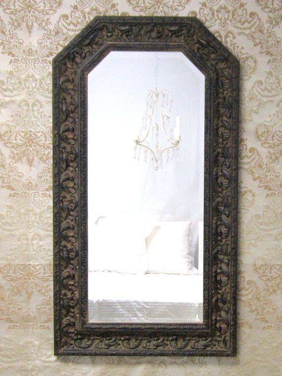Ready to ship neoclassic mirror decorative for sale for Long thin decorative mirrors
