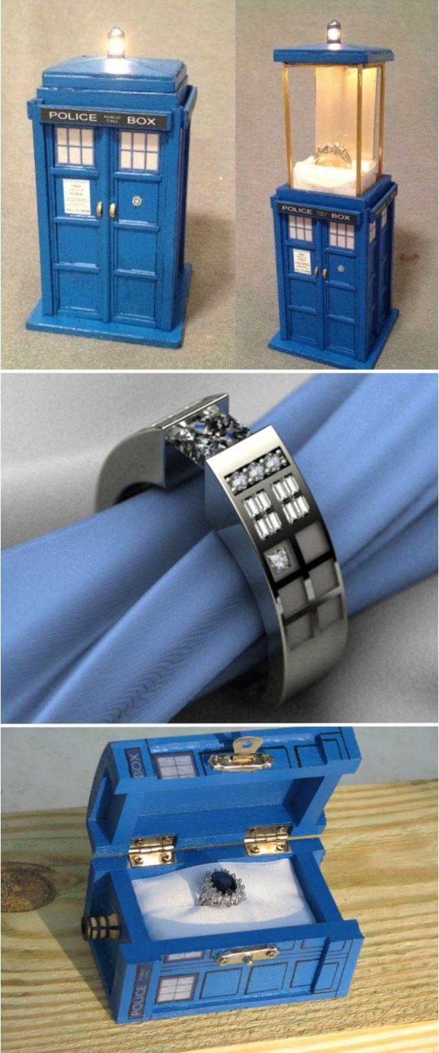 Best 25+ Tardis Ring Ideas On Pinterest  Doctor Who Proposal, Doctor Who  Ring And Doctor Who Jewelry