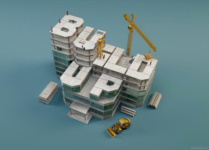 Buildup typography