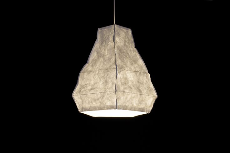 my Fit Mama by natural born design / tyvek lamp