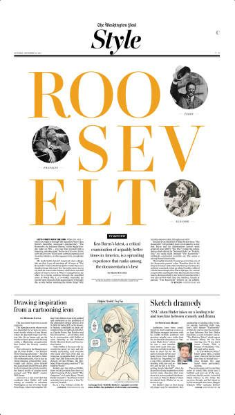 roosevelt #Newspaper #GraphicDesign #Layout