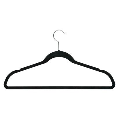 Honey-Can-Do Velvet Touch Suit Hanger - 50-Pack - Black $43