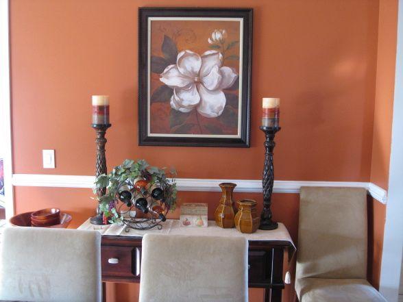 Orange Dining Room Ideas Google Search