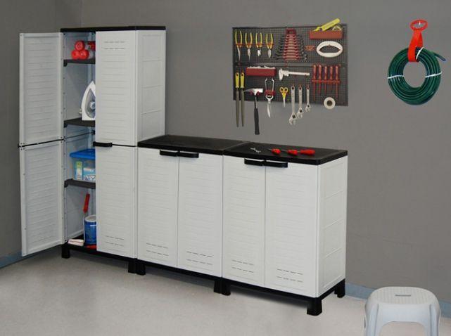 rangement garage allibert rangements h2ome pinterest. Black Bedroom Furniture Sets. Home Design Ideas
