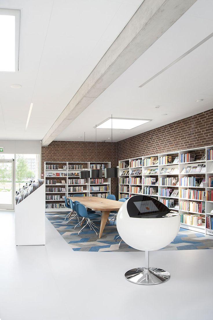 Det nyrenoveret bibliotek har stor fremgang i besøgstal