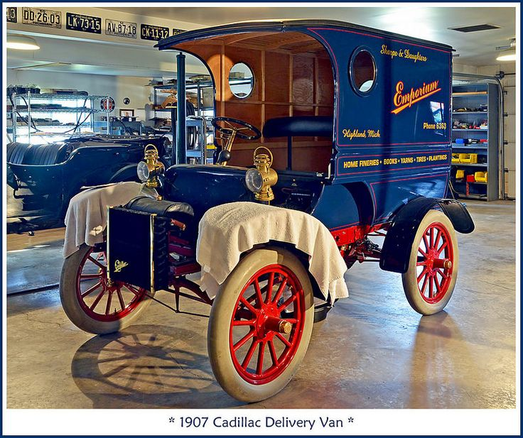 1907 Cadillac Delivery Van Flickr Photo Sharing