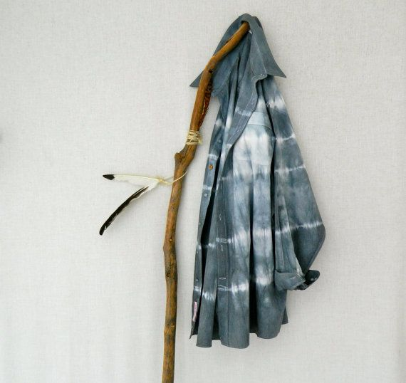 WANDERER . men's tie dye shirt . size 50 ⎜XXLarge . upcycled shirt . slate grey . boyfriend shirt . hippy . recycleparty au wandarrah etsyau