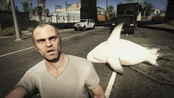 18 awesome selfies from Grand Theft Auto V #GTAV