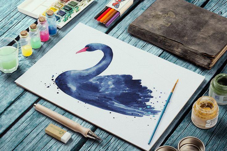 Wild & Free by Olga Ponomarchuk on @creativemarket