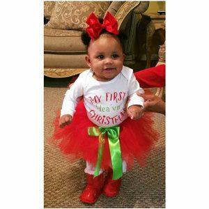 vestido de traje de navidad navidad de chica de beb tut de navidad nia beb recin nacido navidad traje primera navidad vestido tut de la primera