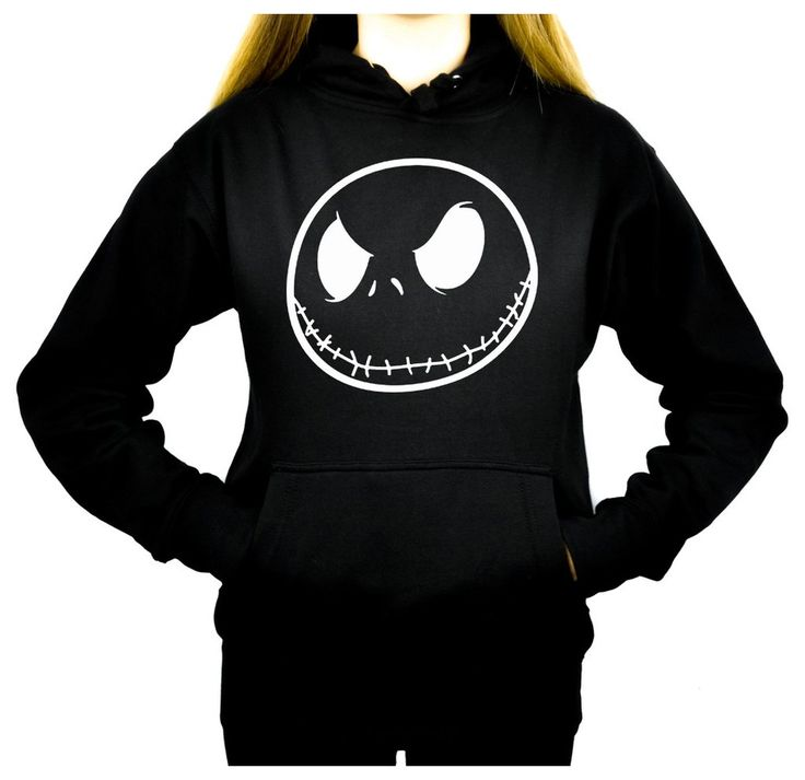 Jack Skellington Women's Pullover Hoodie Sweatshirt Nightmare Before Christmas