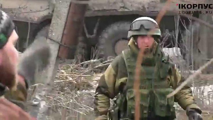 Тяжелый бой за Чернухино ополченцы Часть 1 2015